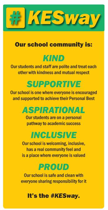 #KESway values image